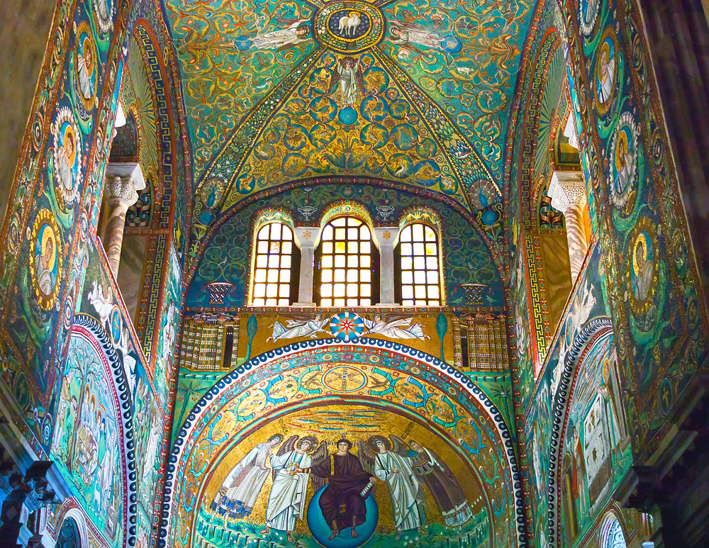 mosaics in Sant'Apollinare in Classe