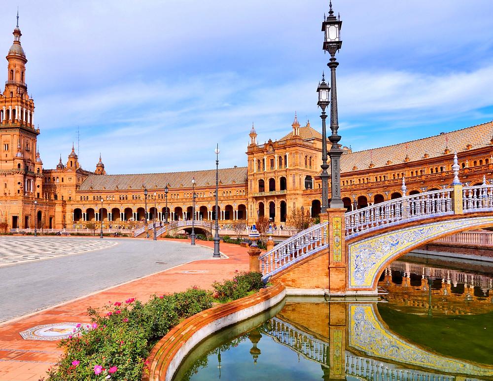 Plaza Espana in Seville