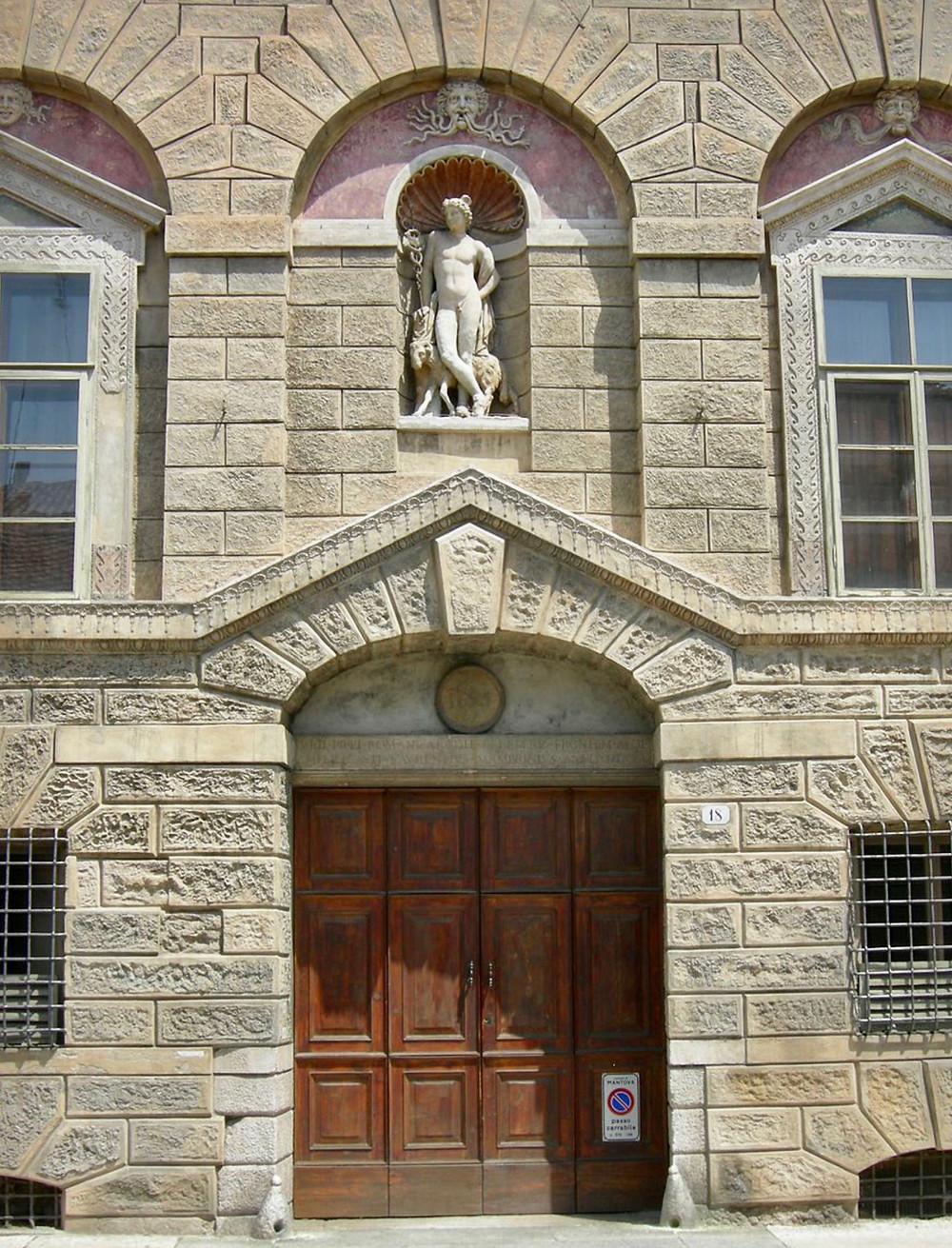 facade of the House of Giulio Romano