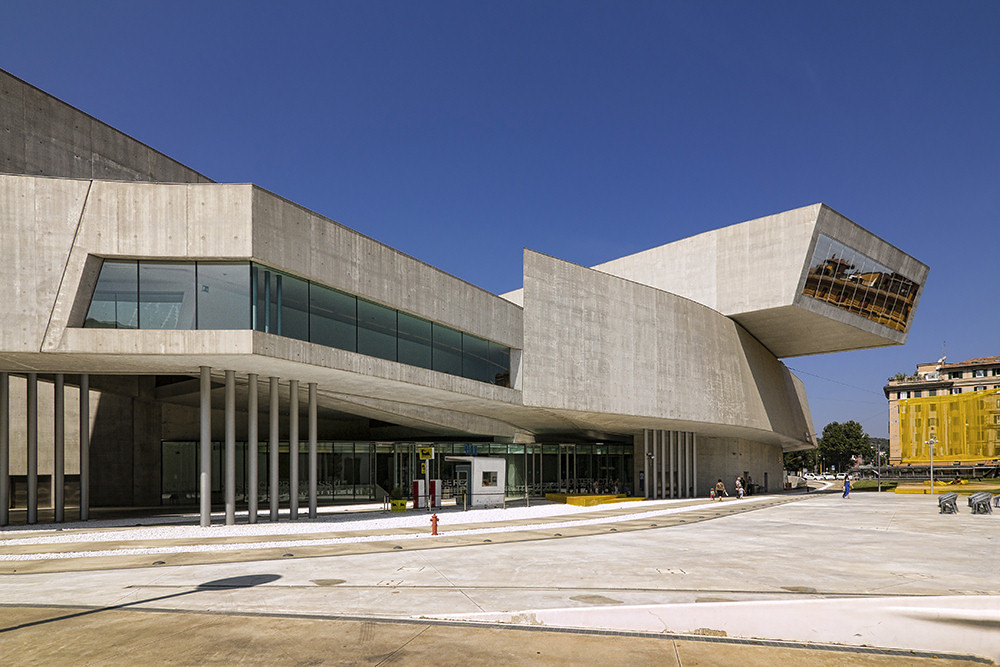 Maxxi, the National Museum of Art from the 20th Century in Rome