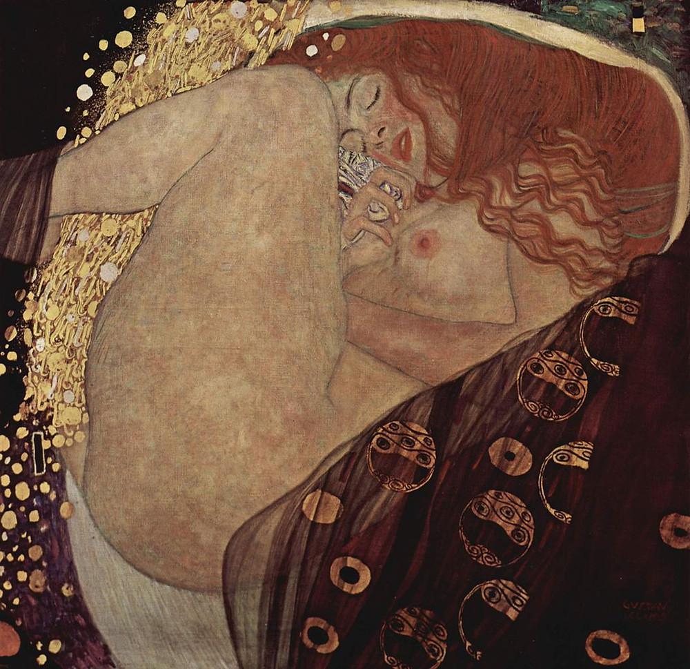 Gustav Klimt, Danäe, 1907