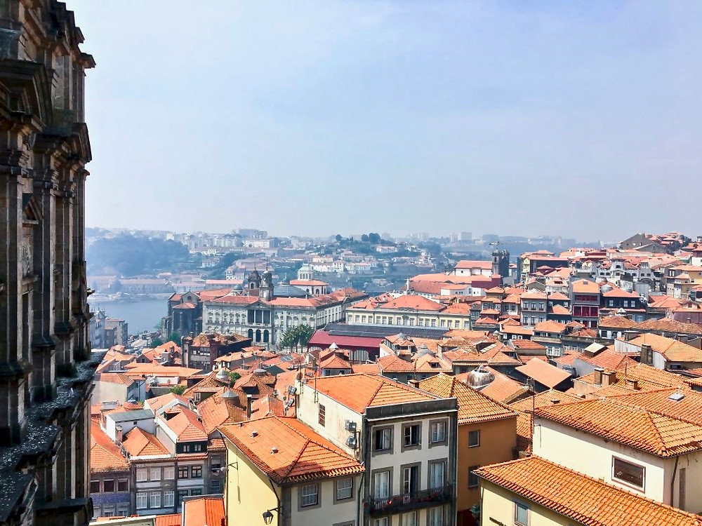 view from the Sé do Porto terrace