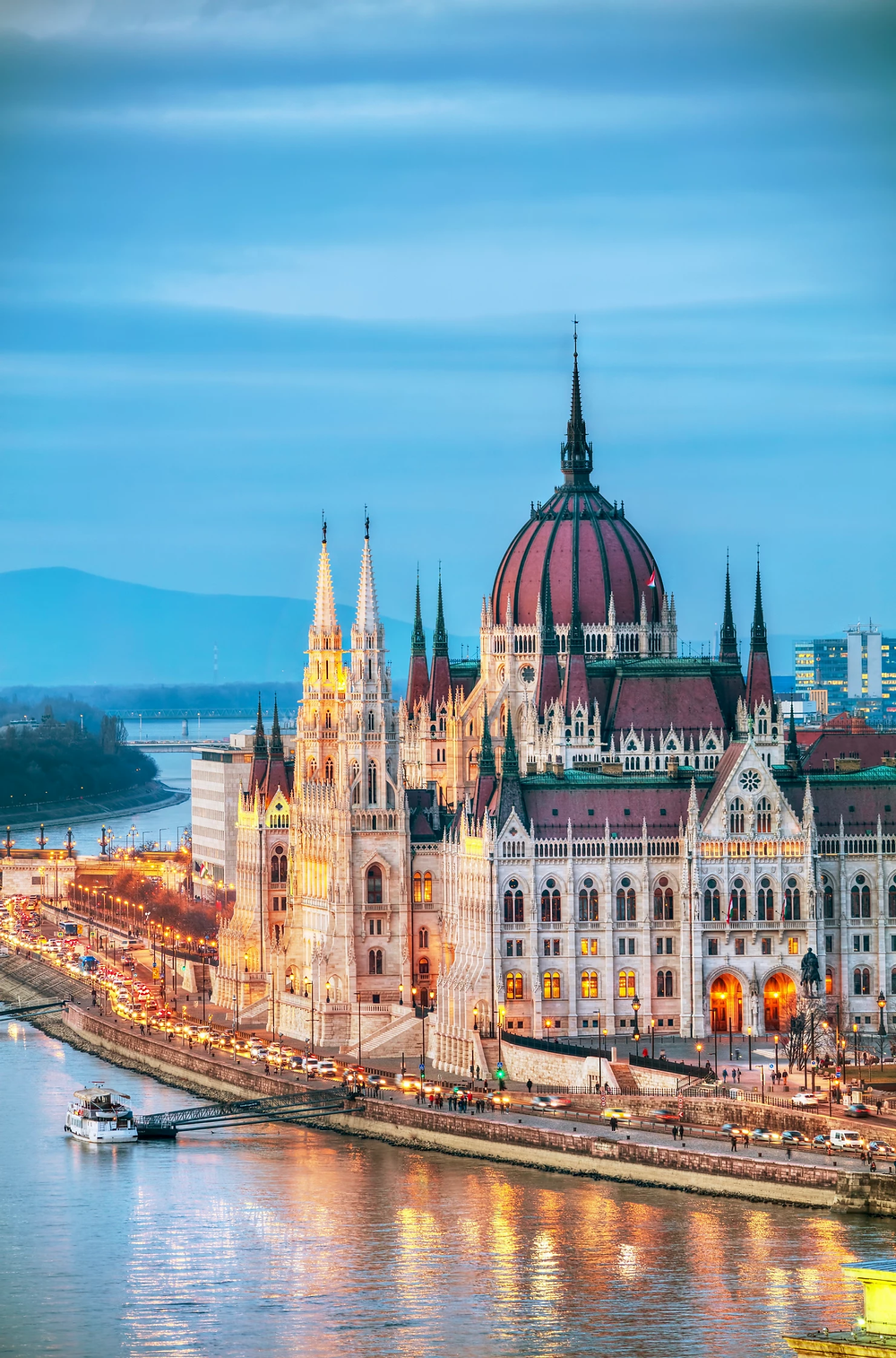 beautiful Budapest Parliament buliding