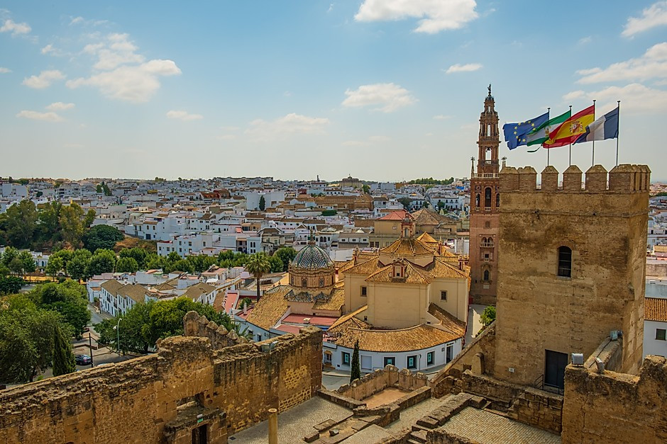 town of Carmona outside Seville