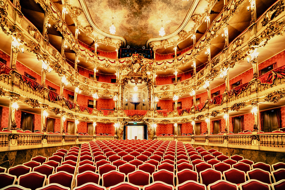 the Cuvillies Theater in the Munich Residenz a Bavarian Rococo masterpiece