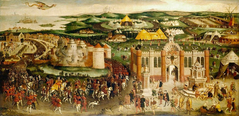 The Field of the Cloth of Gold (painting c. 1545)