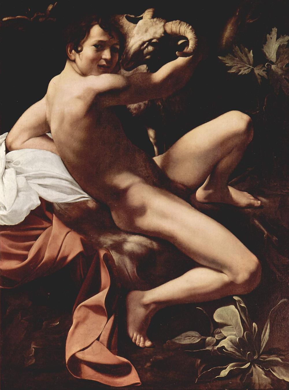 Caravaggio, St. John the Baptist, 1602-03