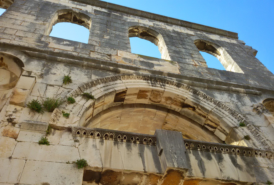 the Silver Gate of Diocletian's Palace
