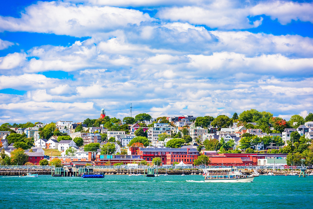 cityscape of Portland Maine