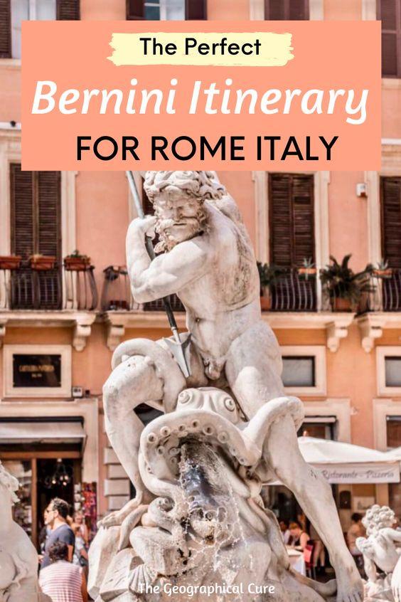 Bernini Itinerary for Rome