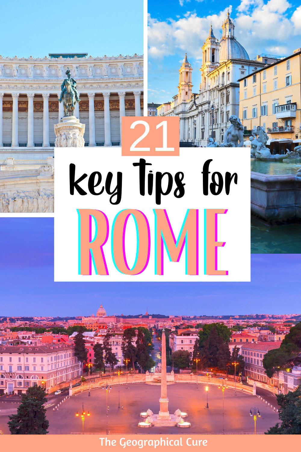 guide to the must know tips for Rome Italy