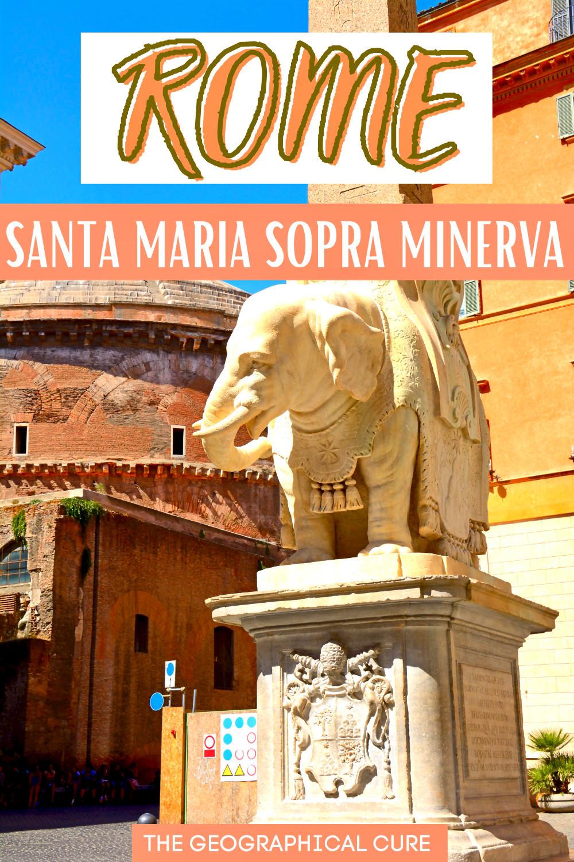 guide to Santa Maria Sopra Minerva, a hidden gem in Rome