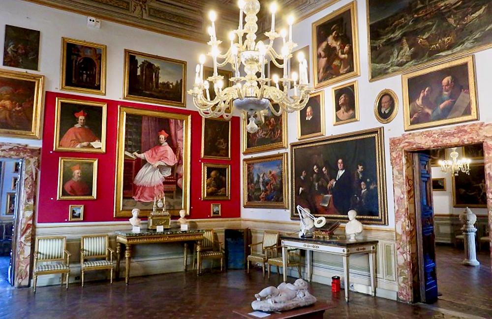 Room I of the Galleria Spada