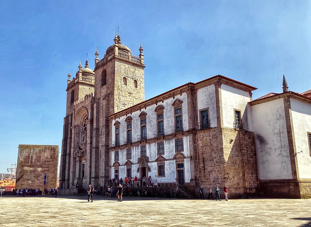 the fortress-like Sé do Porto