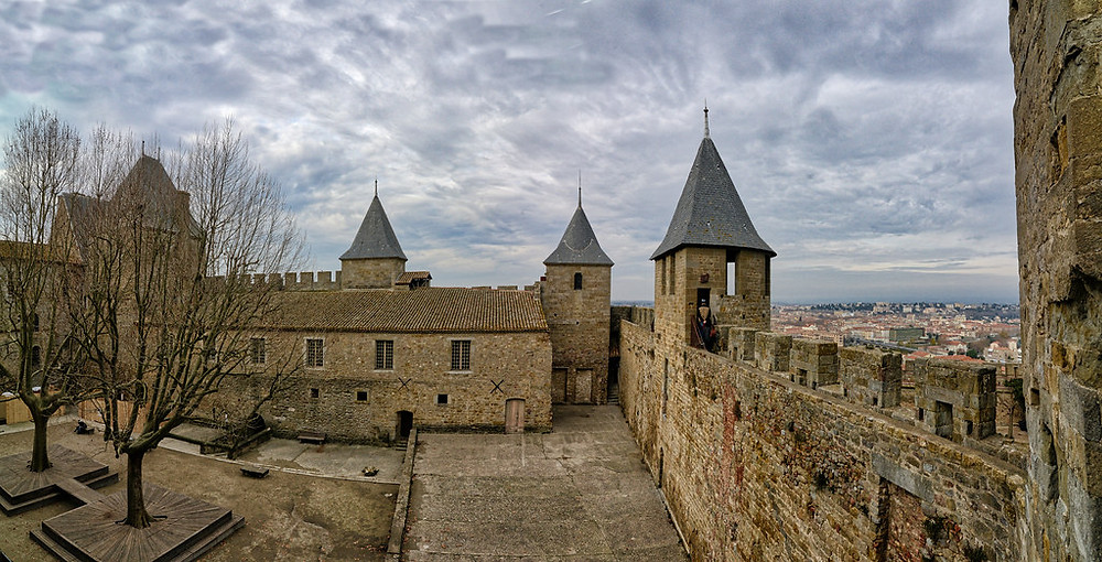 Chateau Contal in Carcassonne France