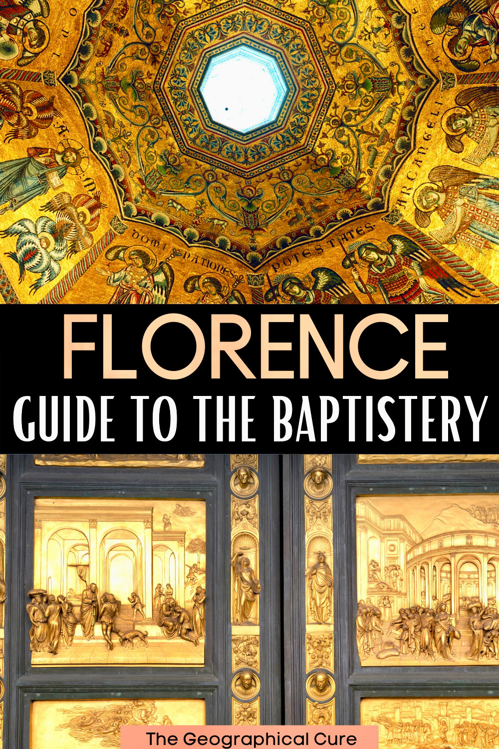 guide to the Baptistery in Florence Italy