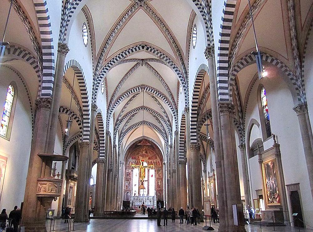 nave of Santa Maria Novella