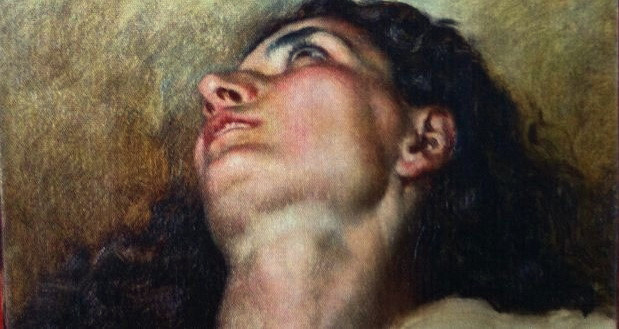 the upper section of highly controversial Courbet's Origin of the World