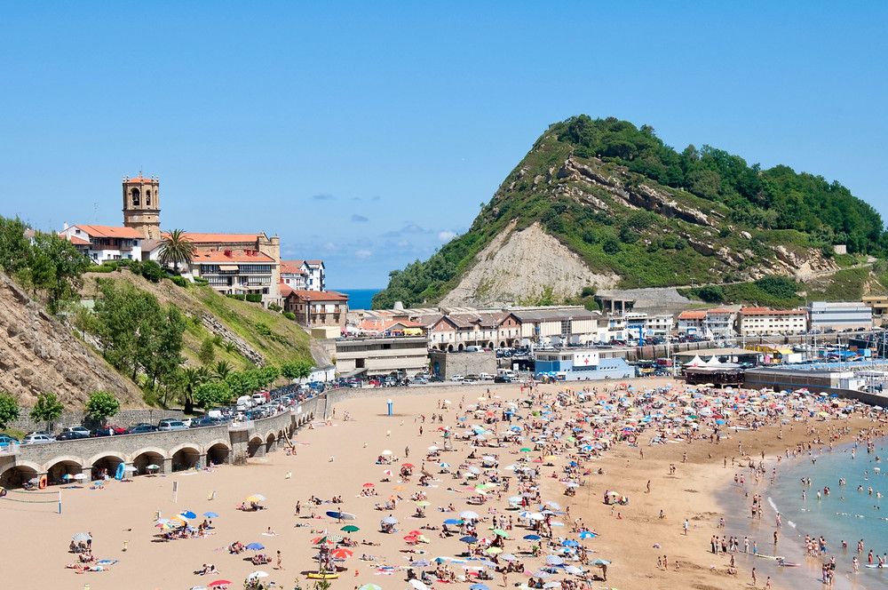 secret town of Getaria on the Basque coast