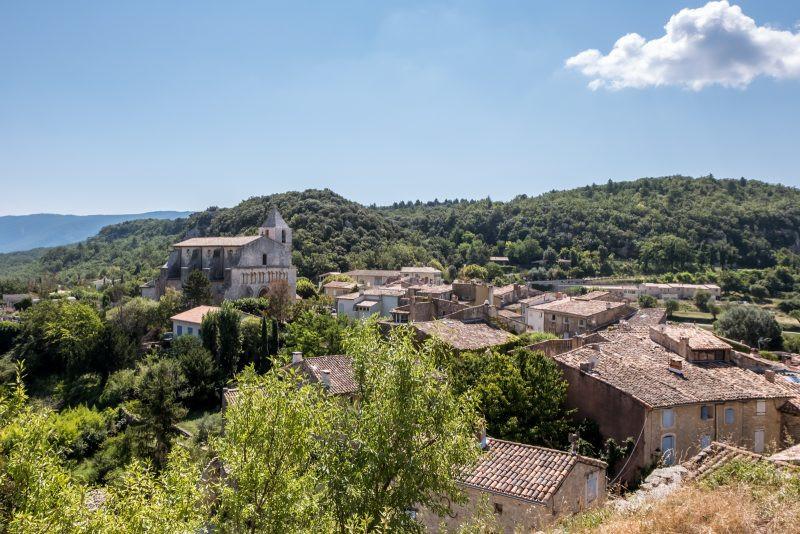 the Luberon village of Saignon