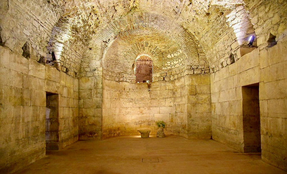 the cellars of Diocletian's Palace