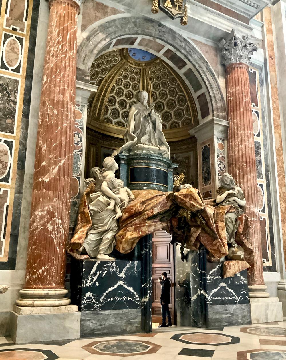 Bernini, Tomb of Alexandre VII Chigi, 1672-78