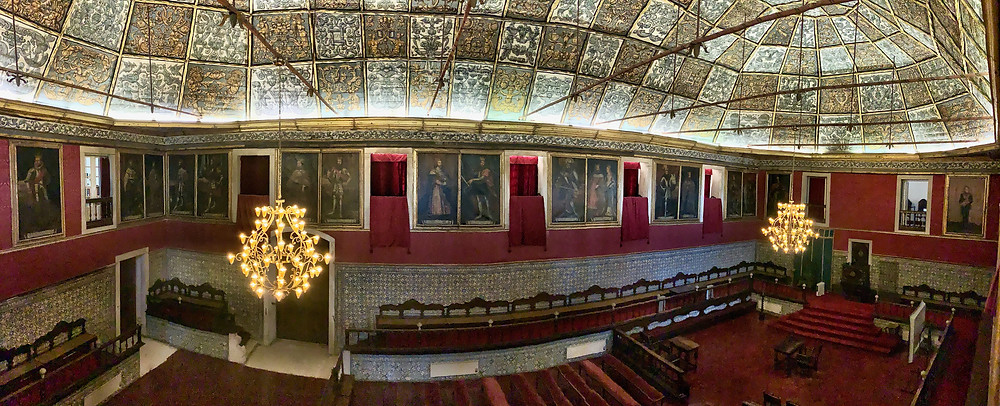 panoramic shot of the Great Hall of Acts