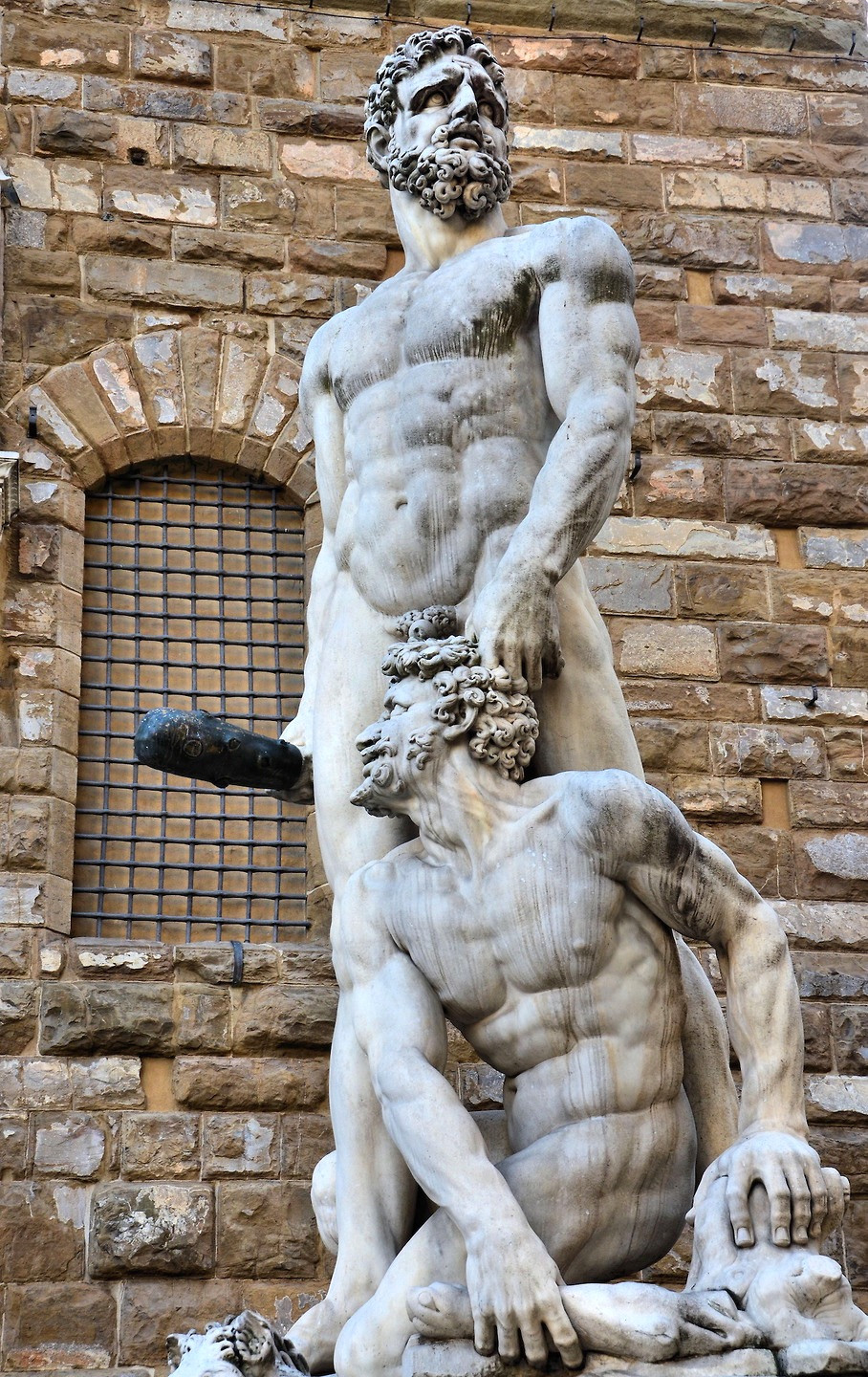 Bandinelli, Hercules and Cacus, 1534