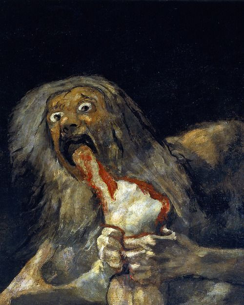 Francisco Goya, Saturn Devouring His Son, 1819-23