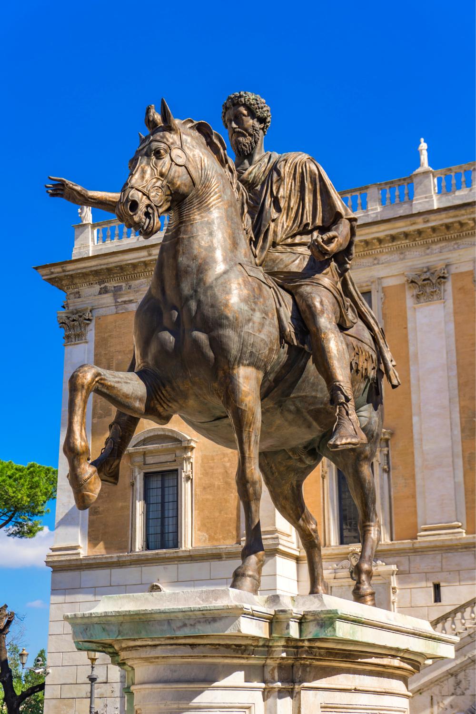 Equestrian Statue of Marcus Aurelius, 181 AD