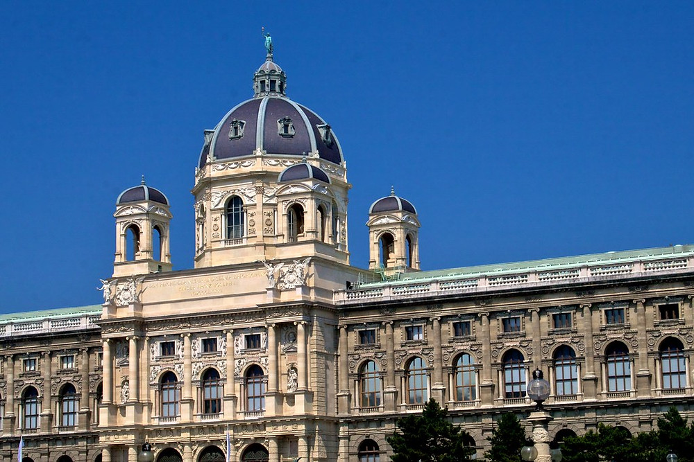 dome and facade of the Kunsthistorisches Museum
