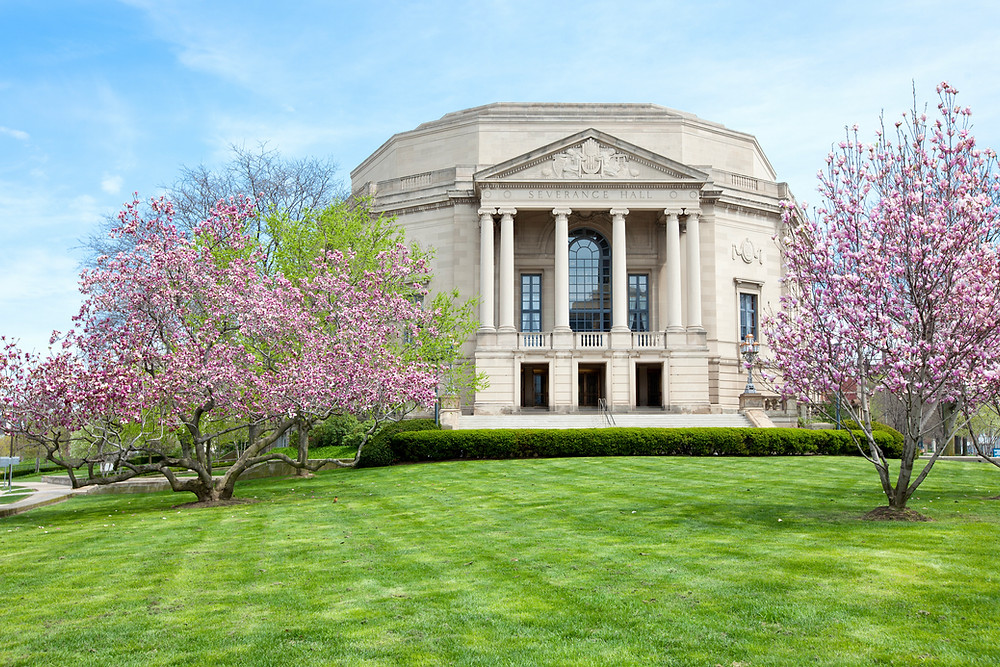 Severance Hall, home to the Cleveland Orchestra