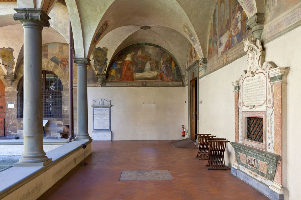 the Cloister of St. Antoninus in Florence's San Marco Monastery Museum