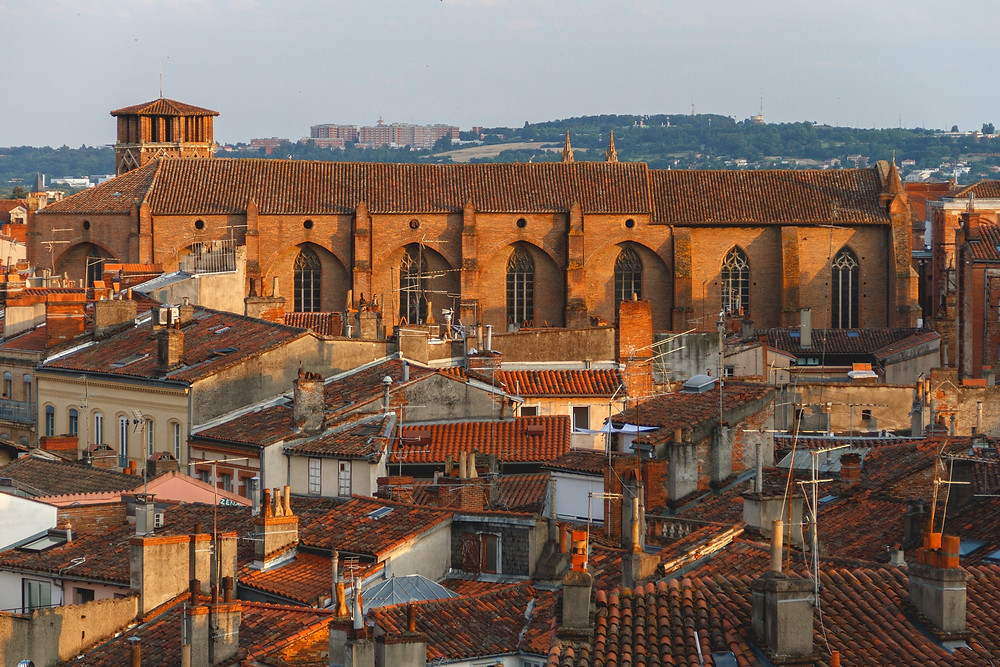 Toulouse France, a delightfully rose hued city in southwest France