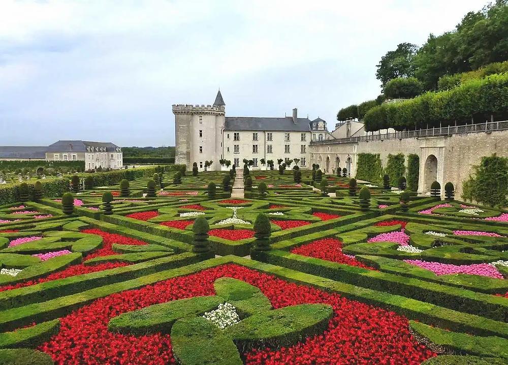 gardens of Chateau de Villandry