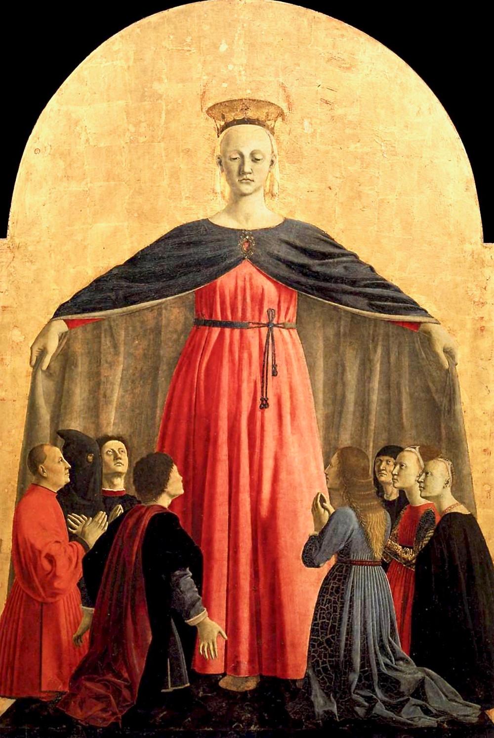 Piero della Francesca, Polyptych of the Misericordia, 1444-1465
