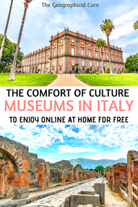 the best museums in Italy to visit and enjoy online for free