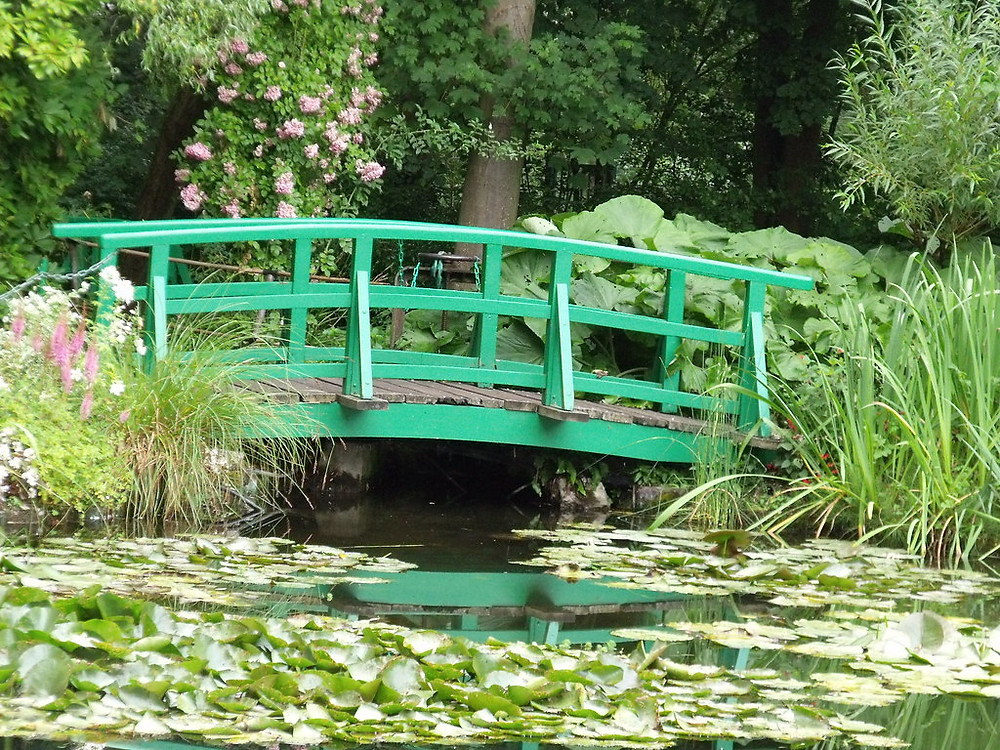 Monet's house and garden in Giverny outside Paris