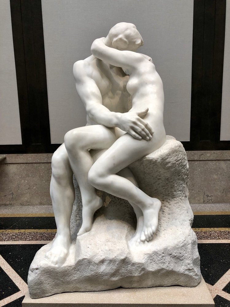 August Rodin, The Kiss 1882