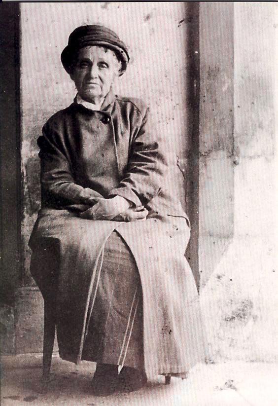 Camille Claudel in a church run asylum in souther France