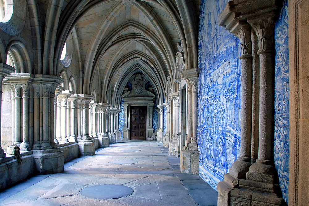 Gothic cloister of Se Cathedral