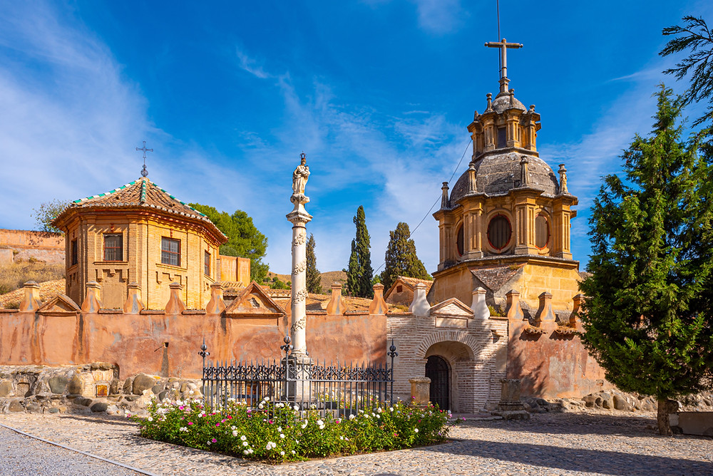 entrance to Sacromonte Abbey, a hidden gem in Granada