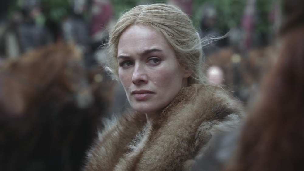 Cersei rightly sensing enemies at Winterfell
