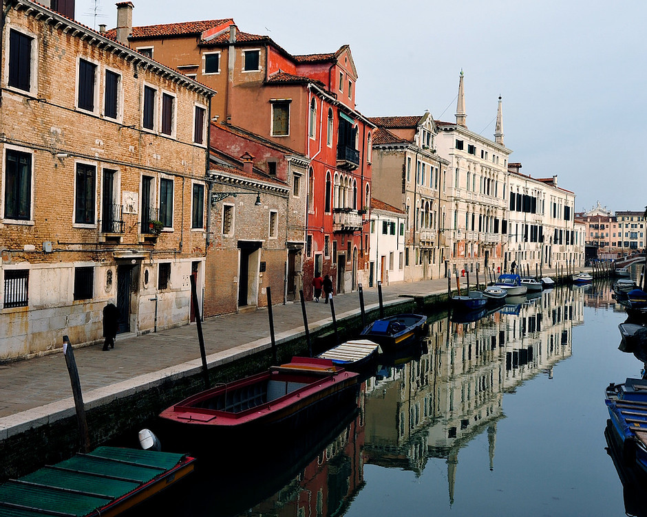 Venice's Cannaregio neighborhood
