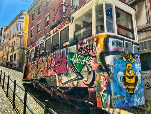 A Wild Ride on Lisbon's Ascensor da Glória