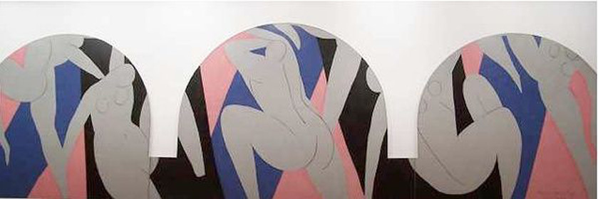 La Danse  by Henri Matisse, 1933 -- in the Paris Museum of Modern Art