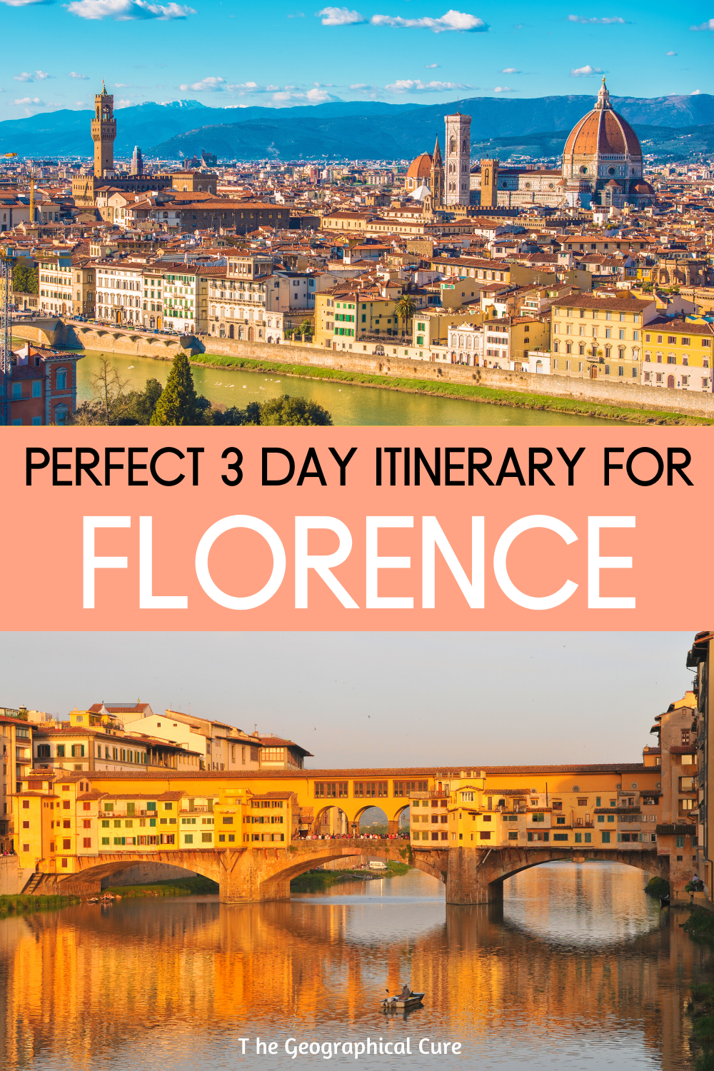 Perfect 3 Day Itinerary for Florence Italy