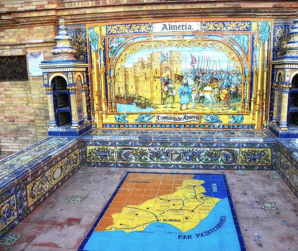 the Almeria alcove in the Spanish Pavilion