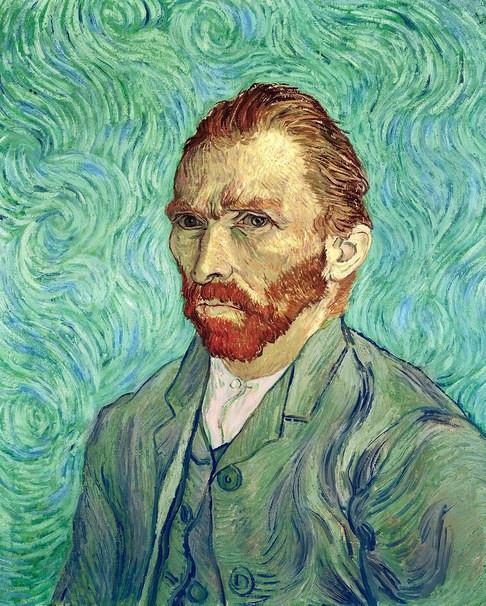 Van Gogh, Self Portrait, 1889