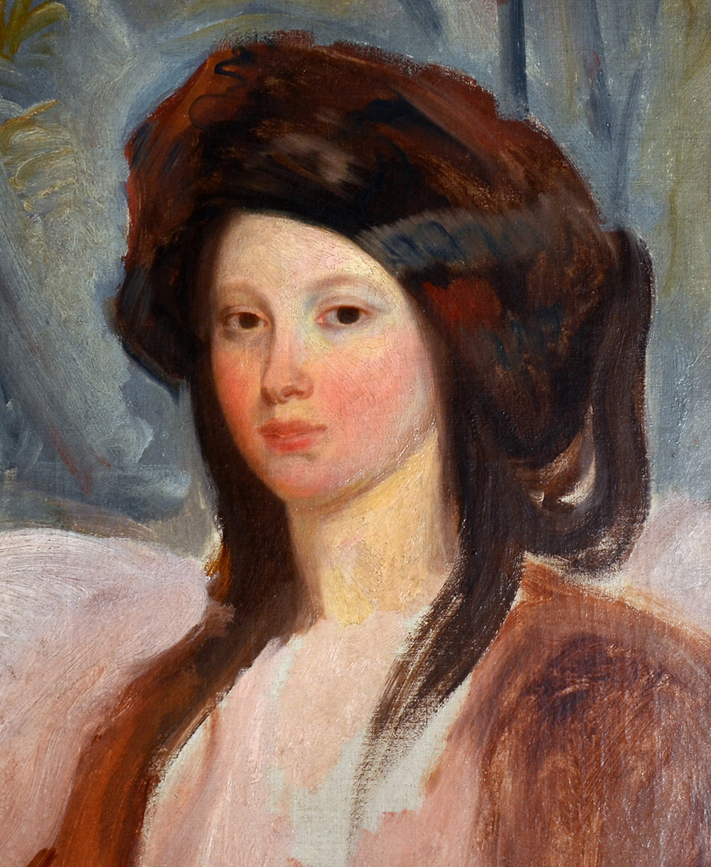 Champmartin, Portrait of Juliette Drouet, 1827 -- in the Victor Hugo Museum